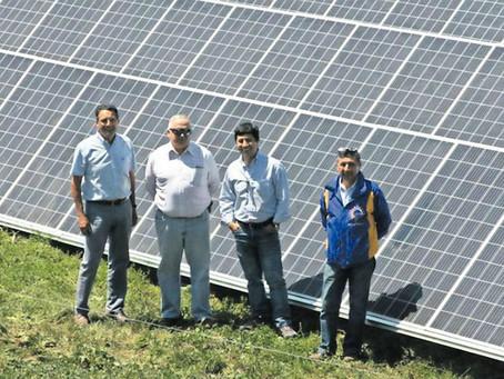 Planta solar para el uso agropecuario más grande del sur de Chile está en Los Lagos