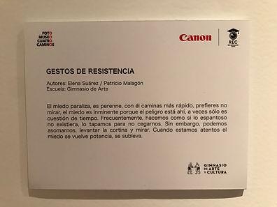 Gabriela Elena Suárez Macías, velo, rec, fotografia, foto museo cuatro caminos, canon, gimnasio de arte y cultura