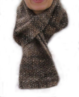 Hand knitted and spun items
