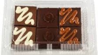 Gold Gift Box (6 pack): 2 Oreo, 2 German Chocolate, 2 Nutty
