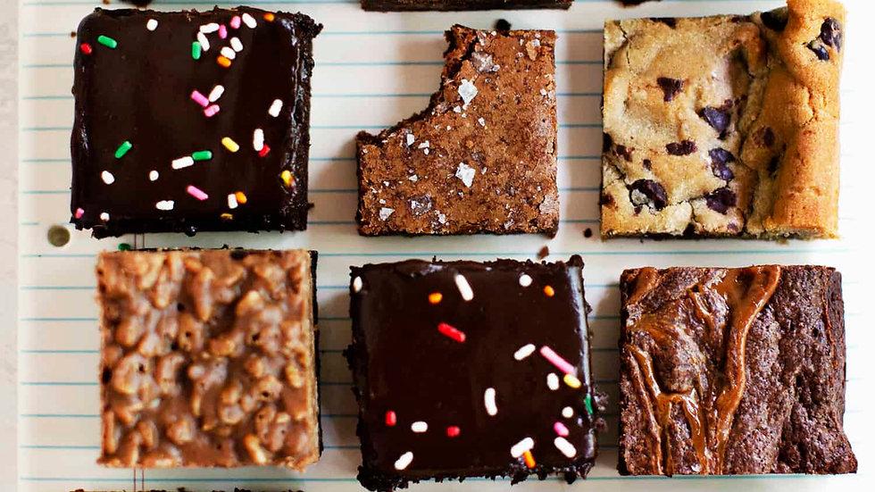 Vegan Brownies/Blondies (A dozen)