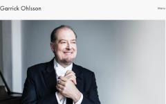 Garrick Ohlsson website