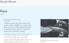 Garrick Ohlsson press
