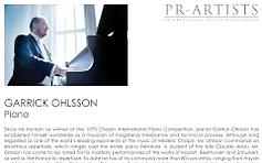 Garrick Ohlsson biography