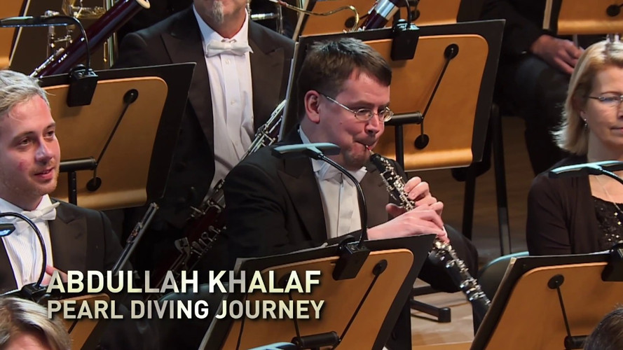"Abdullah Khalaf ""Pearl Diving Journey"", PFK Prague Philharmonia, Emmanuel Villaume"