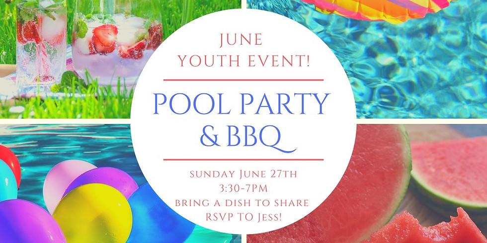 Youth Swim Party & BBQ