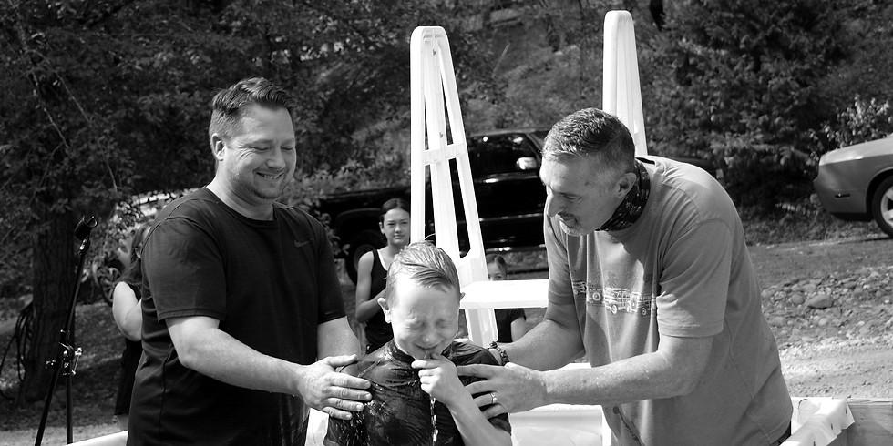 Baptism Sign Up 10:30 Service