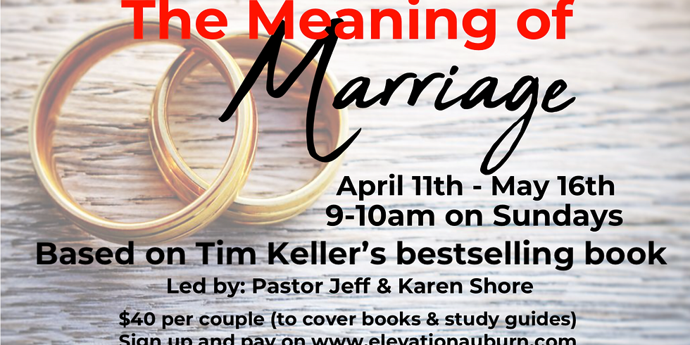 Meaning of Marriage Class