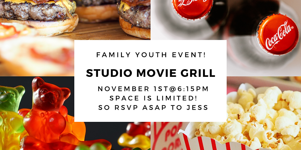 Youth Family Night at the Movies!