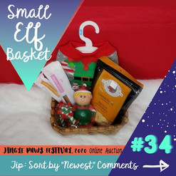 #34 Small Elf Basket