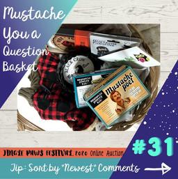 #31 Mustache You a Question Basket