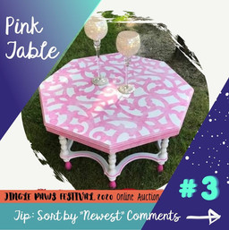 #3 Pink Table