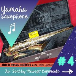 #4 Yamaha Saxophone