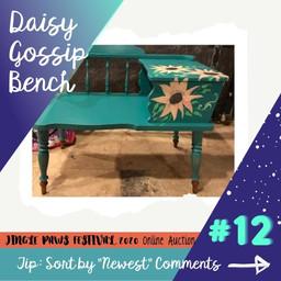 #12 Daisy Gossip Bench
