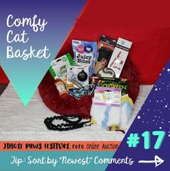 #17 Comfy Cat Basket