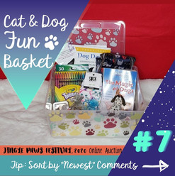 #7 Cat & Dog Fun Basket