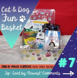 #7 Cat & Dog Fun Basket