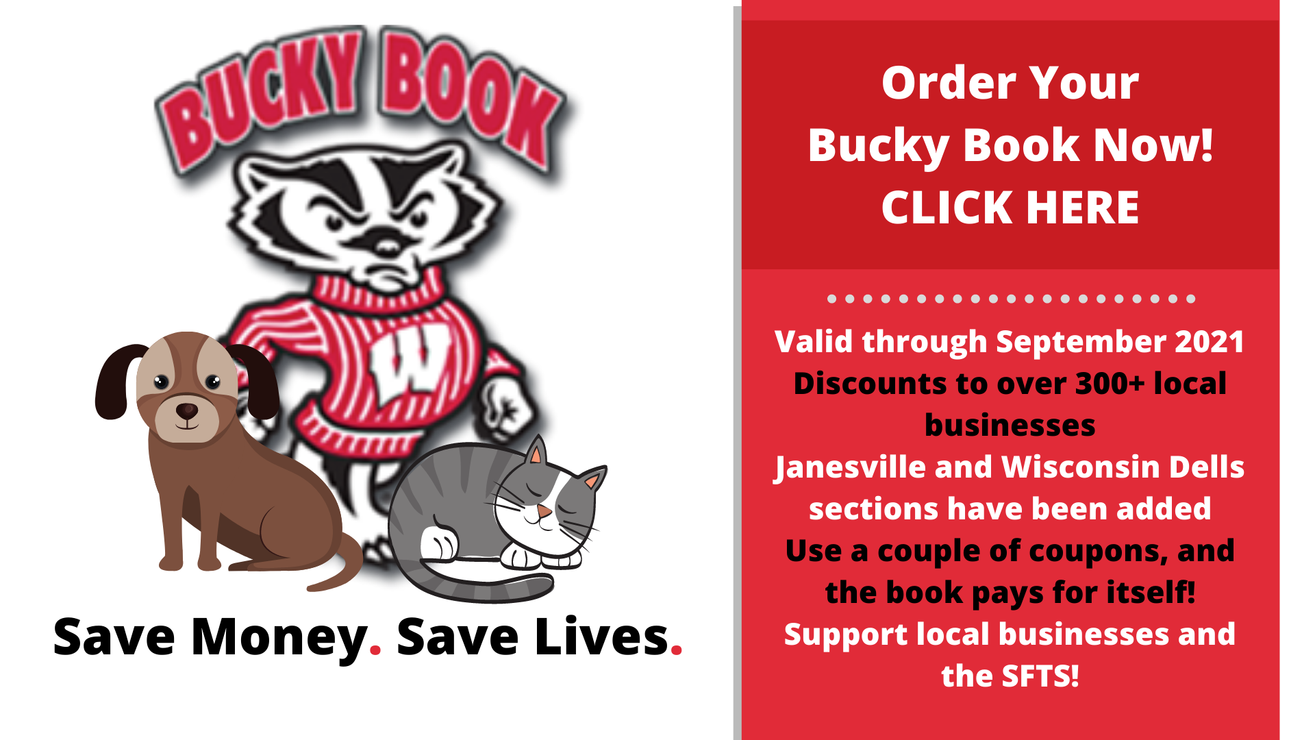 Order Your Bucky Book with SFTS