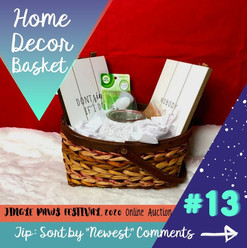 #13 Home Decor Basket