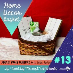 #13 Home Decor Basket