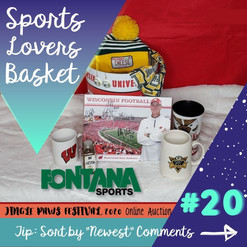 #20 Sports Lover's Basket