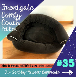#35 Frontgate Comfy Couch Pet Bed