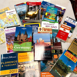 Books Galore! Including Lots of Travel Books!
