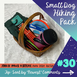#30 Small Dog Hiking Pack