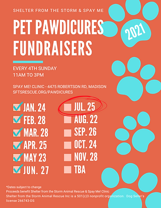 Pawdicures 2020 Magnet May Cor..png