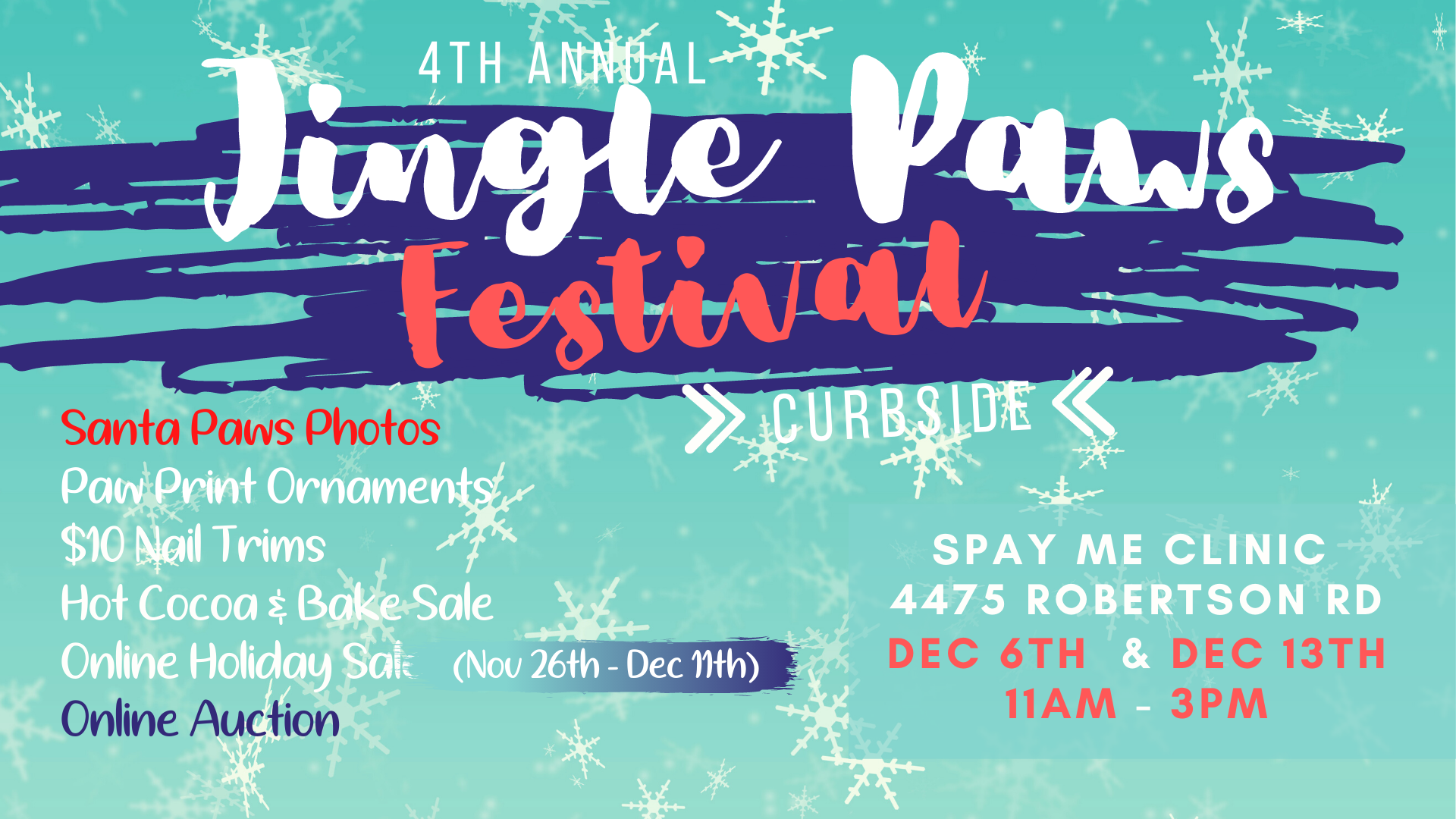 Jingle Paws Festival 2020