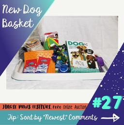 #27 New Dog Basket