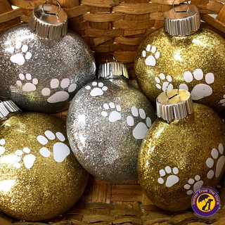 Walk With Me Sparkle Ornament - $5