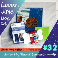 #32 Dinner Time Dog Set