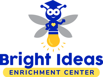 Bright Ideas logo, blue-yellow.png