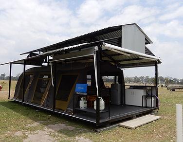 luxury family tent