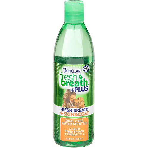Tropiclean Water Additive Skin and Coat