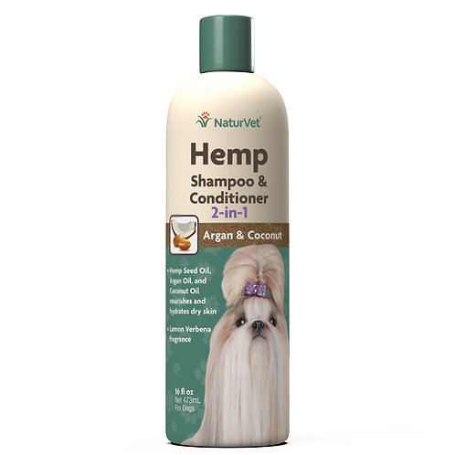Hemp Shampoo & Conditioner 2-in-1