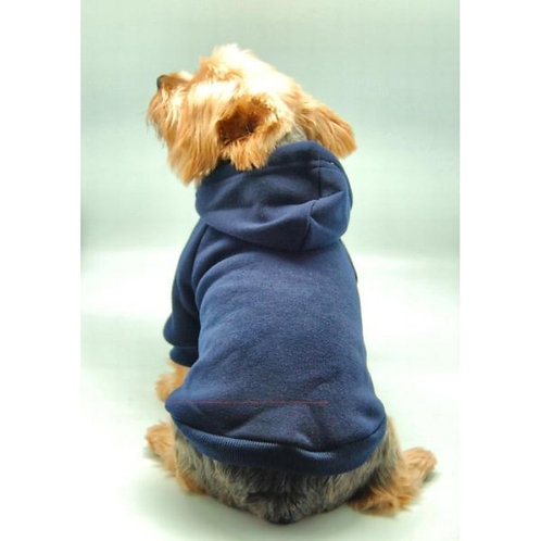 Anima Dog and Pet Hoodie Sweatshir Blue