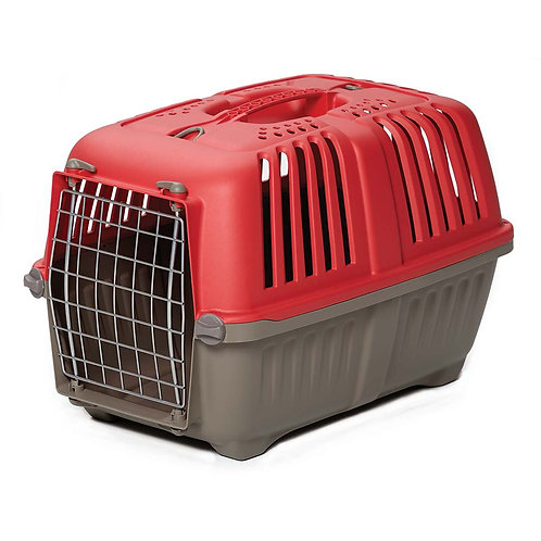 MidWest Spree Plastic Pet Carrier, Red