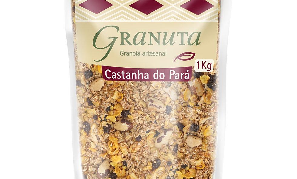 KIT -  3 pc Granola PREMIUM Castanha do Pará 1kg