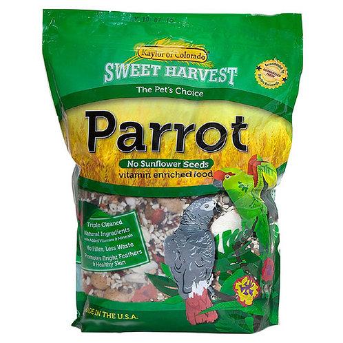 Sweet Harvest Parrot Food No Sunflower Seeds