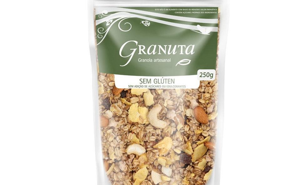 Granola PREMIUM Amêndoa, sem glúten e ZERO Açúcar