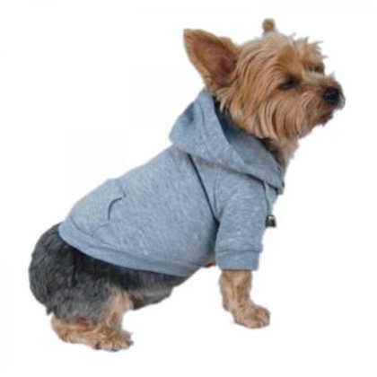 Anima Dog and Pet Hoodie Sweatshirt Gray