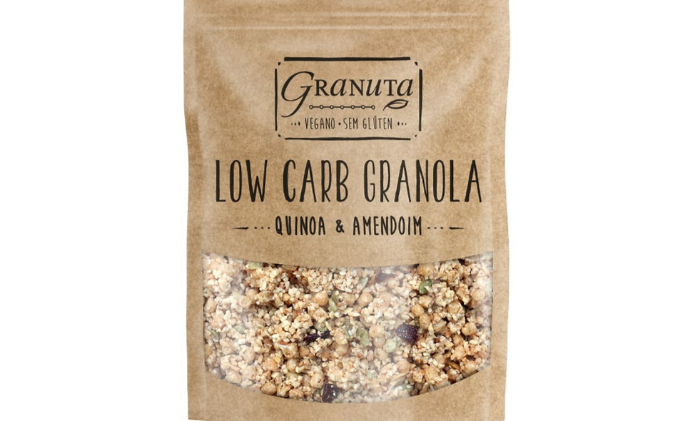 KIT - 2pc Low carb Quinoa e Amendoim 200g