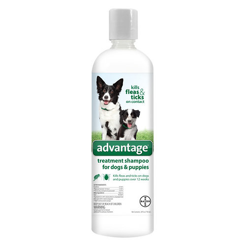 Advantage Shampoo for dogs and puppies