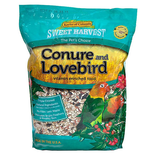 Sweet Harvest Conure & Lovebird Food 2 lbs Sweet Harvest Conure & Lovebird Food