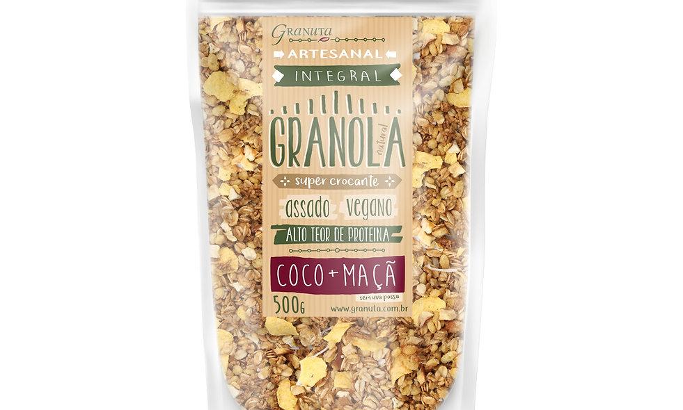 Granola SUPER CROCANTE Coco+Maçã 500g