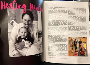 Healing Henley. An SDS Story told by Henley's mom, Jess