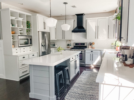 FINALLY! The big kitchen reveal: Part 1