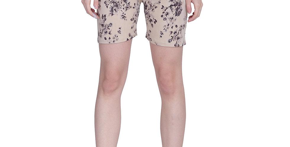 MGrandbear Women's Denim Stretchable Shorts/Sports Shorts
